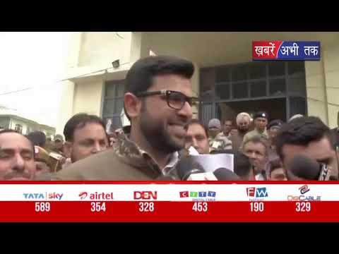 दिग्विजय चौटाला ने कृष्ण मिड्ढा को जीतने पर दी बधाई    Khabrain Abhi Tak Live