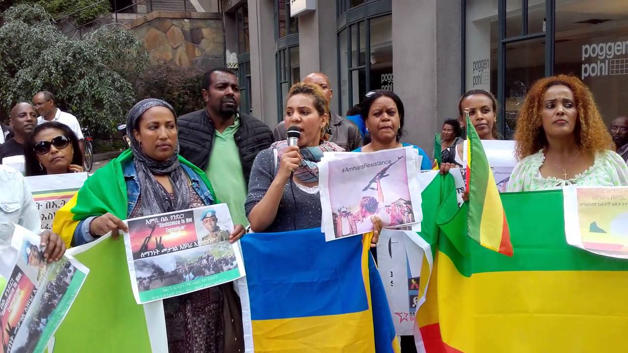 the violent action of an ethiopian embassy employee against ethiopian peaceful protestors Thanking the us embassy in ethiopia for standing and by standing with peaceful ethiopian protesters demanding against violent.