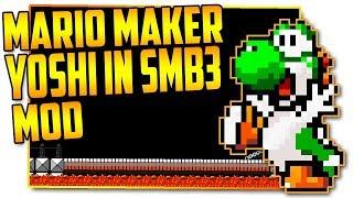 Yoshi in Super Mario Bros. 3 - Super Mario Maker Mod