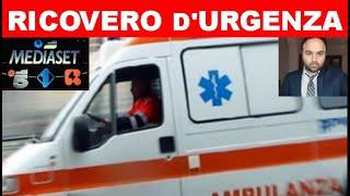 RICOVERATO D'URGENZA IL FAMOSISSIMO PERSONAGGIO DI MEDIASET - ECCO COS'E' SUCCESSO...