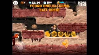 Boulder Dash (by Tapstar Interactive Inc.) iOS / Android Gameplay
