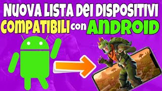 FORTNITE Mobile ANDROID: Nuovi DISPOSITIVI Compatibili!