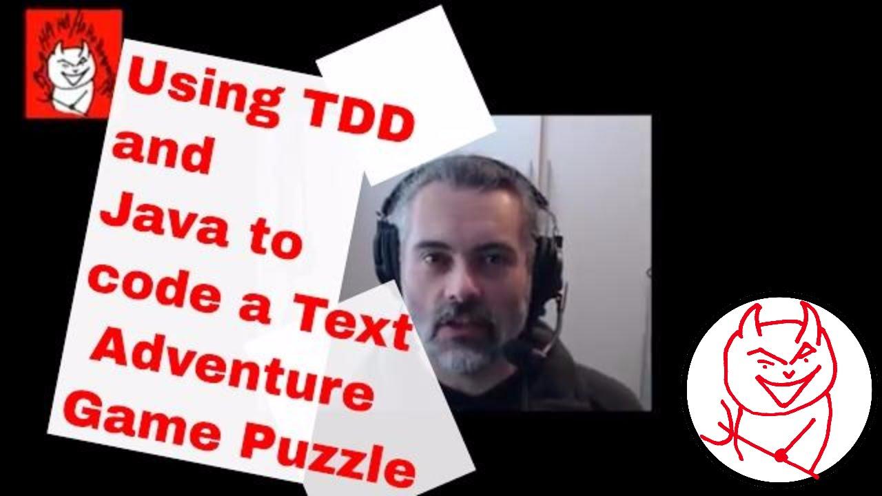 Test driven development create a text adventure game puzzle test driven development create a text adventure game puzzle using java junit and tdd part 1 baditri Images
