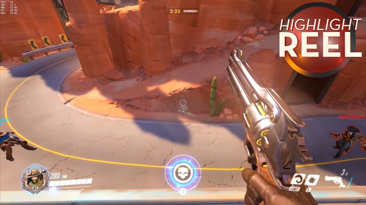 Highlight Reel #226 - Overwatch Players Stage A McCree Shootout For The Ages