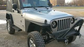Jeep TJ tube fenders Smittybilt review