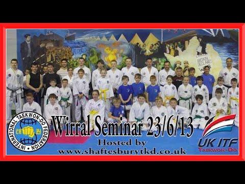 Taekwondo Seminar/Workshop in Wirral   Ginger Ninja Trickster