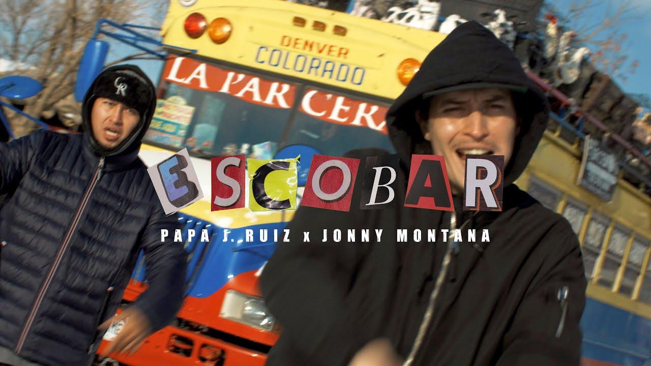 Escobar - Papa J. Ruiz Ft Jonny Montana (Video Oficial)