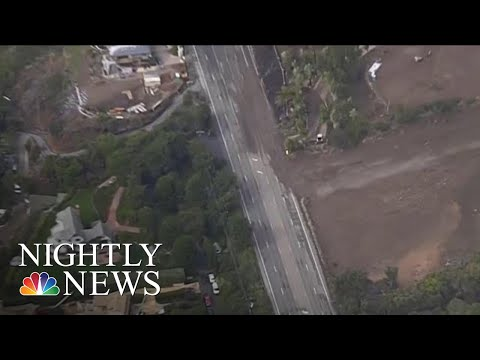 Powerful California Storm Triggers Mudslides, Flash Flooding, River Rescues | NBC Nightly News