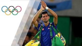 Djokovic in tears after early exit