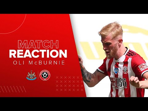 Oli McBurnie Post match reaction interview | Newcastle v Sheffield United.