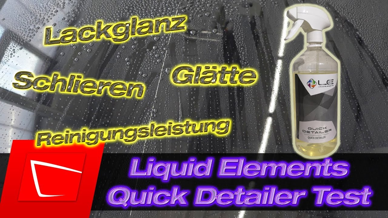 liquid elements quick detailer test der kleine bruder vom gloss boost youtube. Black Bedroom Furniture Sets. Home Design Ideas