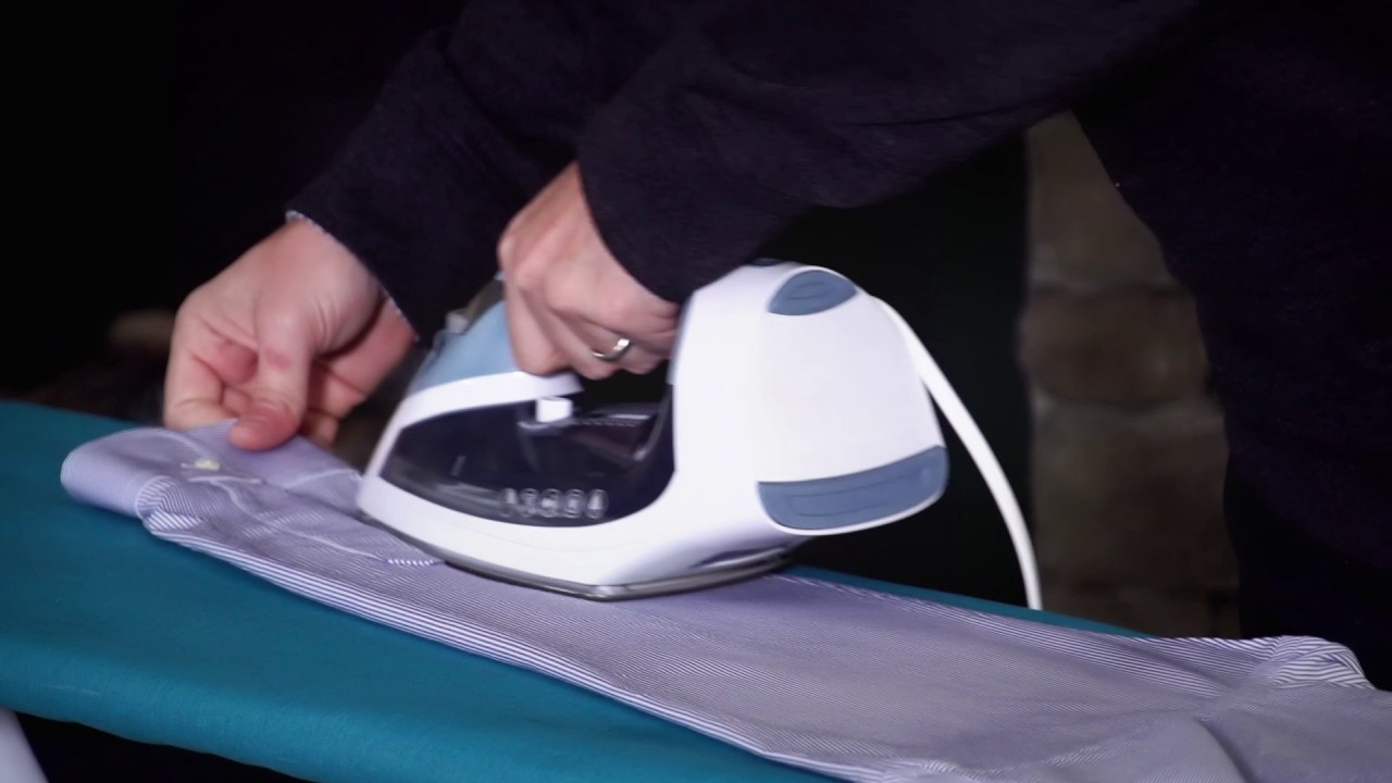 step by step instructions on how to iron a shirt