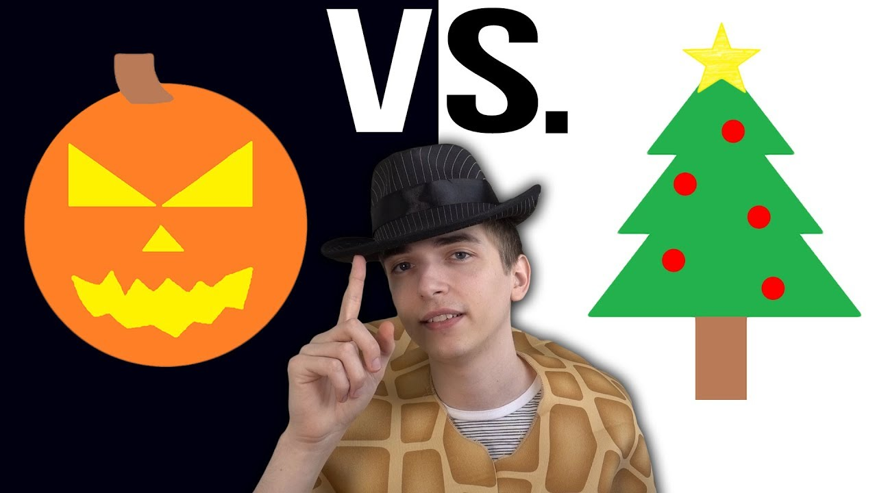 halloween vs christmas