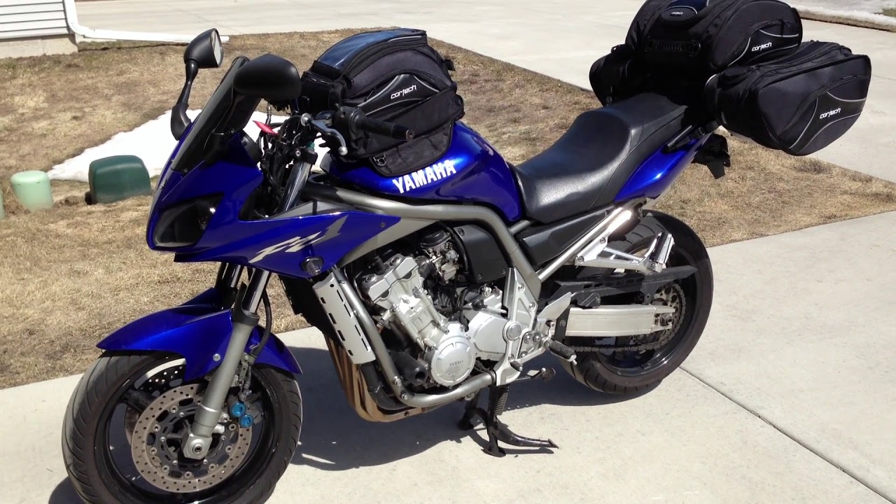 With Only A Motorcycle 2001 Yamaha Fz1 Luggage Rack Part