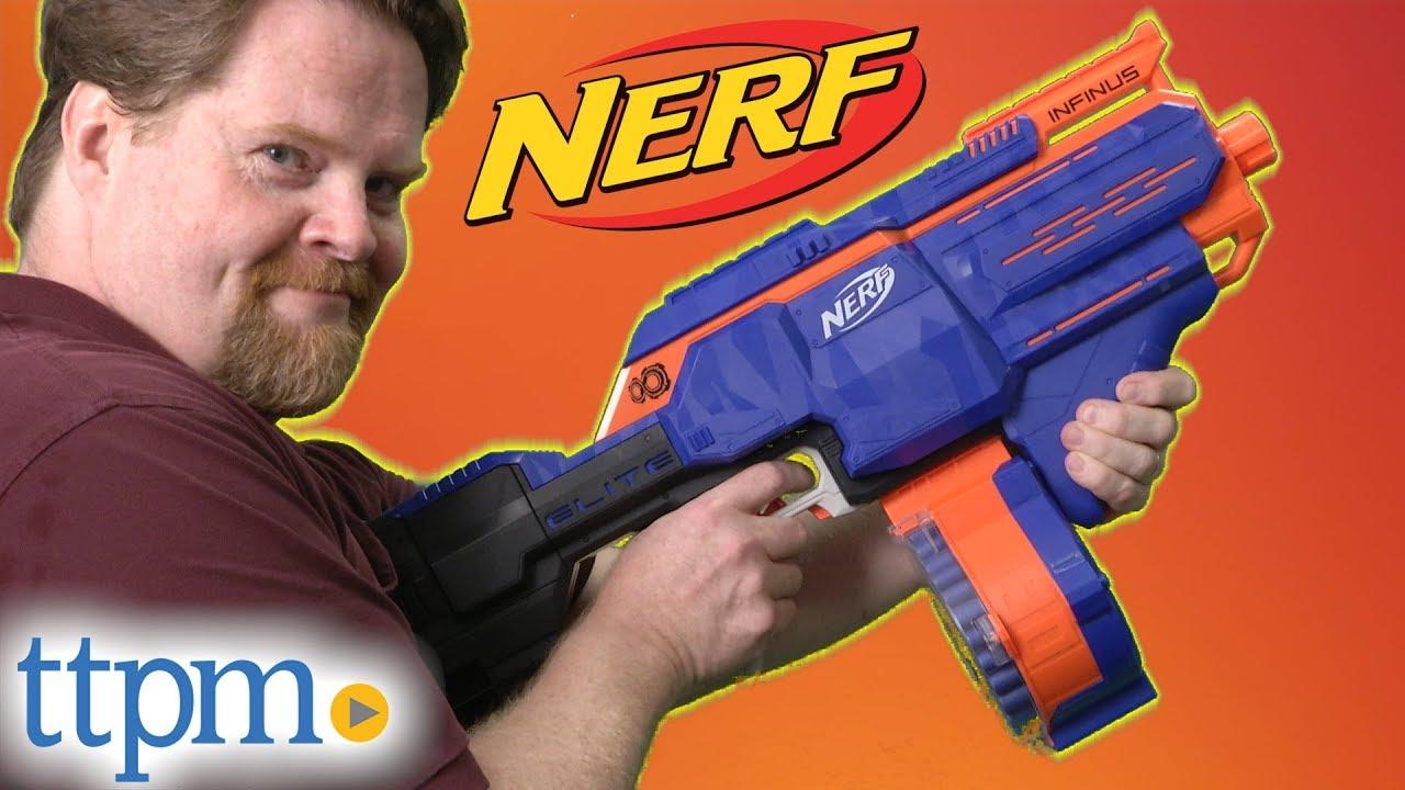 1d2871e0de7 Nerf N-Strike Elite Infinus | Hasbro - YouTube