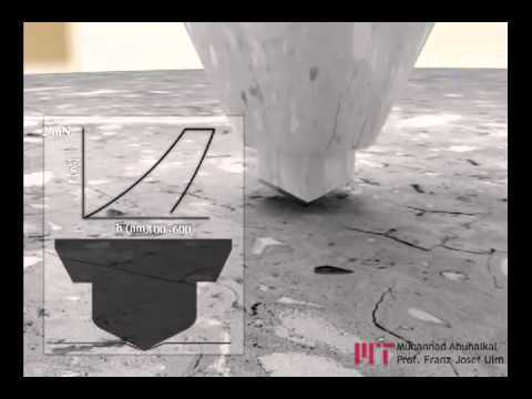 MIT Concrete Sustainability Hub (CSHub) - Nanoindentation - YouTube
