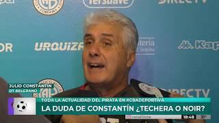 Julio Constantín analiza a Brown en la previa de la fecha 12 de Primera Nacional
