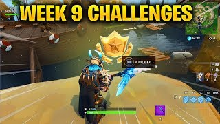FORTNITE WEEK 9 CHALLENGES LEAKED! WEEK 9 GUIDE TO ALL CHALLENGES IN FORTNITE SEASON 5!