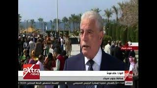 فودة: احتفالات المحافظة بذكرى تحرير طابا مستمرة على مدار 3 أيام