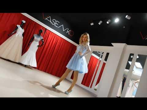 Ранок-панок. Лєна Васенко. Сукні з 3d об'ємними квітами