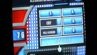 Family Feud 2010 Edition Game #2 Part 1