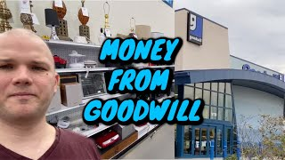 Goodwill Shopping to make money on Ebay. How to Succeed.