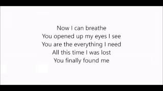 Ronan Keating - Breathe Lyric Video Thanks for watching.