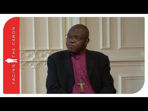Facing the Canon with Archbishop John Sentamu