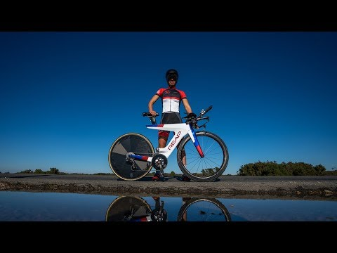 THE ONLY WOMAN IN THE WORLD WITH THIS BIKE || FENELLA LANGRIDGE || REAP BIKE