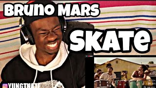 Bruno Mars, Anderson .Paak, Silk Sonic - Skate [Official Music Video] (REACTION)