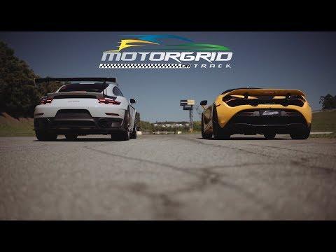 [Subtitle EN] Porsche 911 GT2 RS vs McLaren 720S DragRace & Rolling Start (3x)