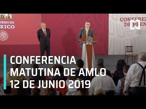 Conferencia matutina de AMLO - 12 de Junio 2019