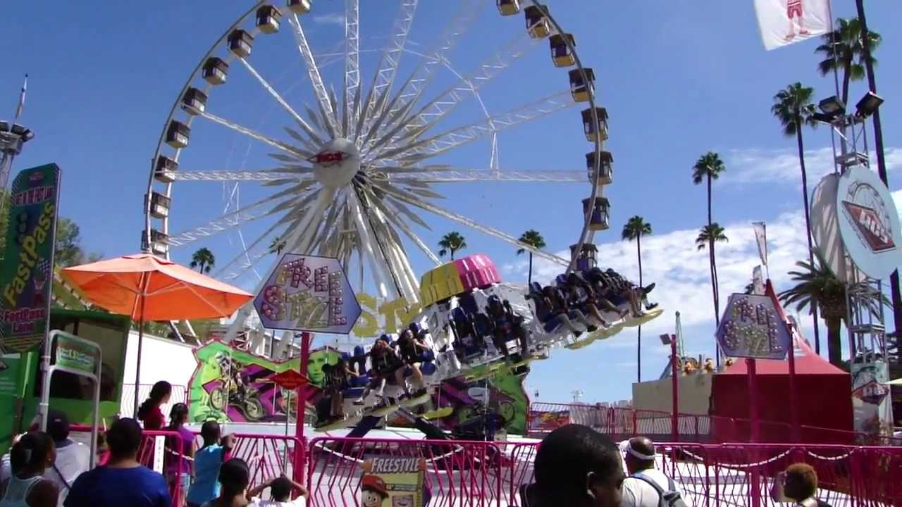 Freestyle ride at the 2013 L.A. County Fair - YouTube
