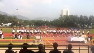 2012-2013年 香港培道中學 陸運會啦啦隊比賽 晞社!