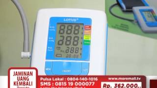 TVC HOME SHOPPING LOTUS BLOOD PRESSURE MONITOR