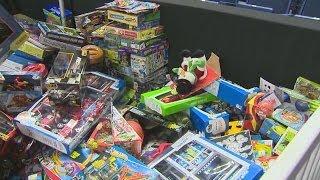 WPLR toy drive fills arena floor
