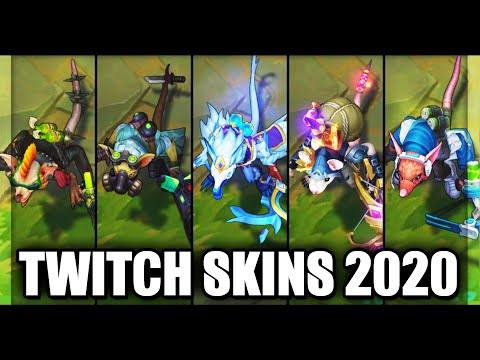 All Twitch Skins Spotlight 2020 (League of Legends)
