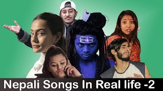 Nepali Songs In Real life-2|Risingstar Nepal