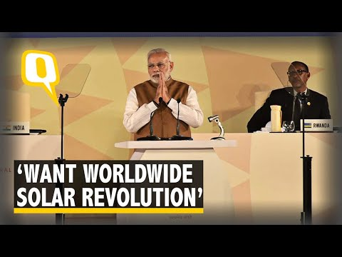 We Want Solar Revolution Worldwide: PM Modi at 1st ISA Summit