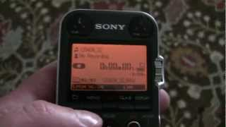 Sony PCM-M10 - Overview and recording tutorial
