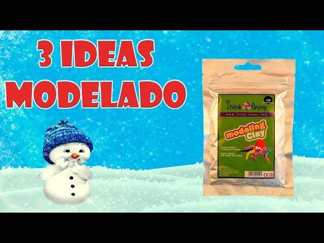 Modelar Con Pasta De Secado Al Aire Manualidades Para Niños