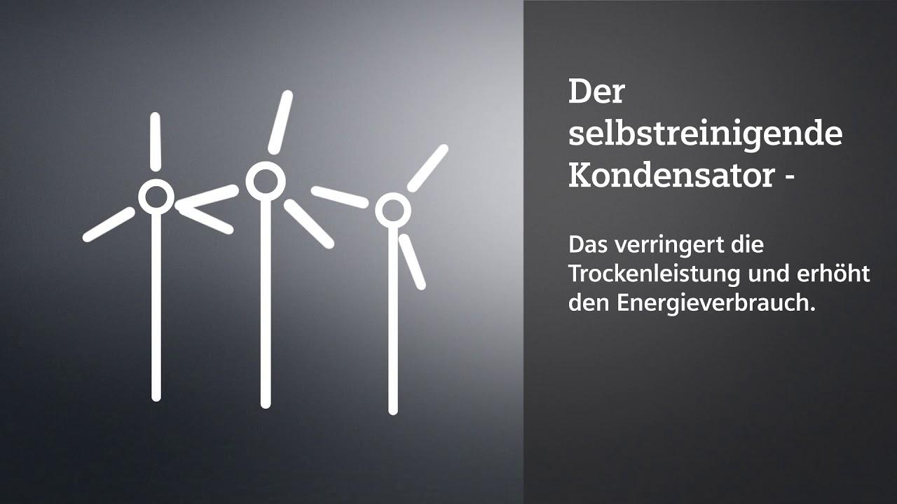 Siemens selbstreinigender kondensator de youtube