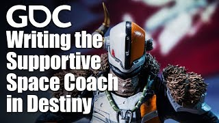 This is Amazing! Writing the Supportive Space Coach in Destiny