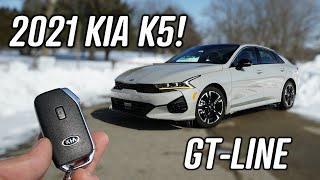 2021 Kia K5 GT-Line Review! | …