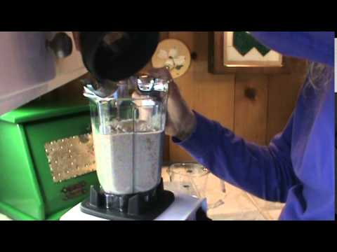 Instant Almond Milk Frozen