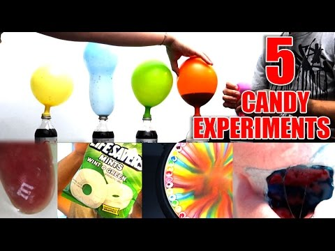 5 FUN CANDY SCIENCE EXPERIMENTS