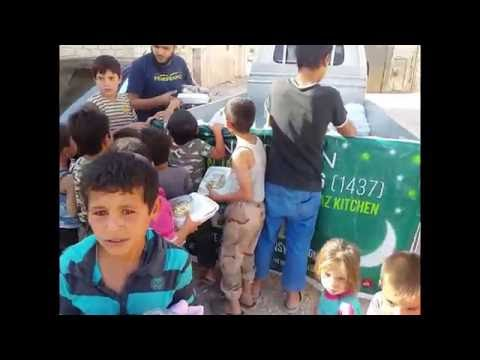 DAY 17 DAILY IFTAR MEALS IN SYRIA RAMADAN 2016