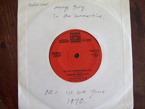 Mungo Jerry   In the Summer Time No1 First Week June 1970 UK