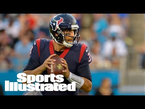 Tom Savage Named Texans' Starting Quarterback Over Deshaun Watson | SI Wire | Sports Illustrated