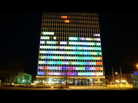 El Tetris más grande del mundo